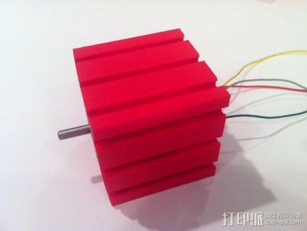致动器支架 3D模型  图8