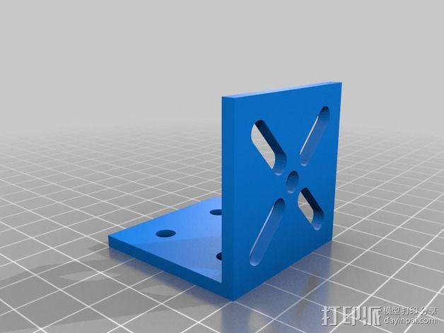 致动器支架 3D模型  图6