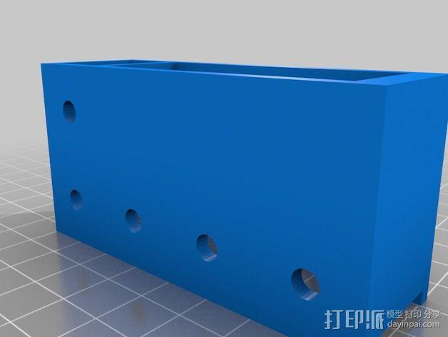 致动器支架 3D模型  图9