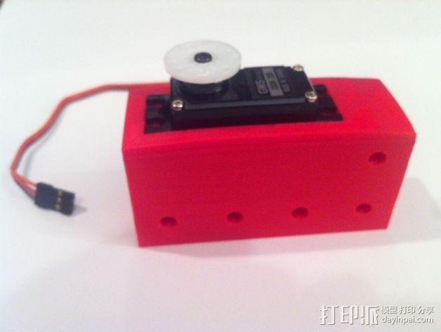 致动器支架 3D模型  图11