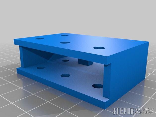 致动器支架 3D模型  图12