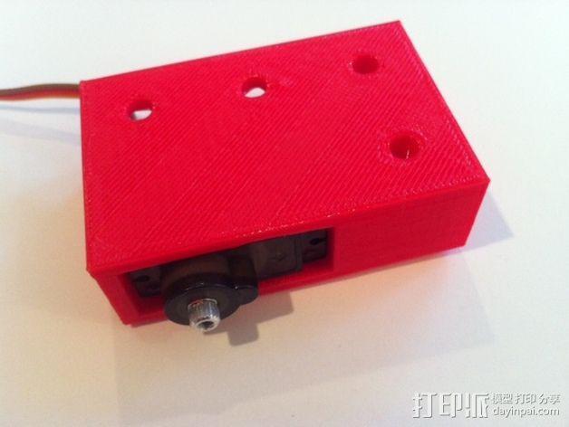 致动器支架 3D模型  图14