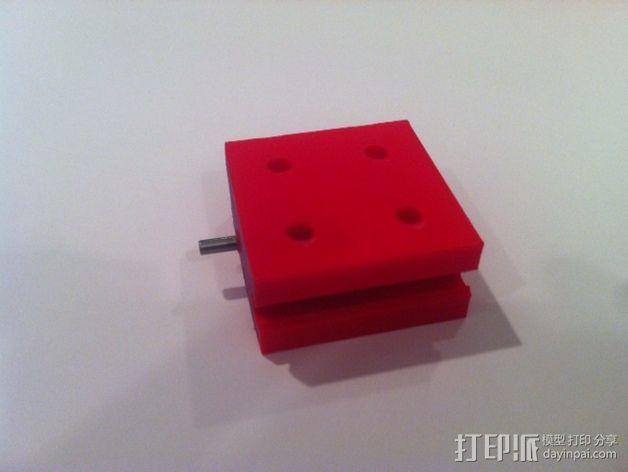 致动器支架 3D模型  图17