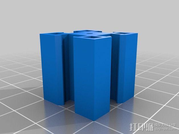 致动器支架 3D模型  图18