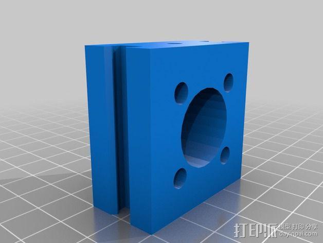 致动器支架 3D模型  图21