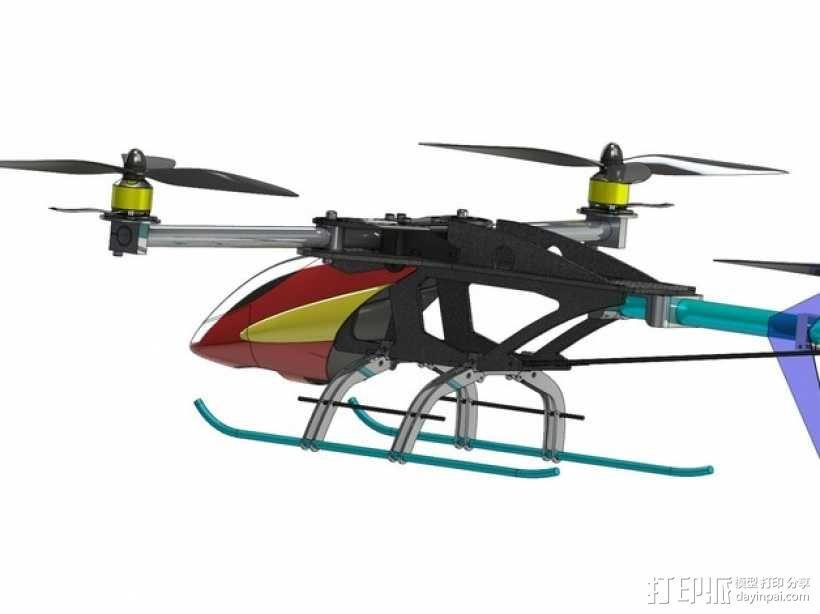 三轴飞行器 3D模型  图14