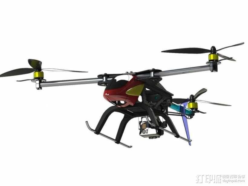 三轴飞行器 3D模型  图12