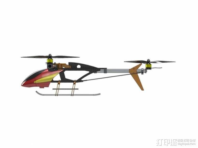 三轴飞行器 3D模型  图15
