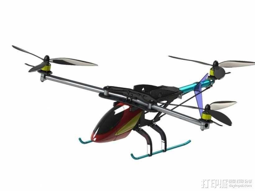 三轴飞行器 3D模型  图18