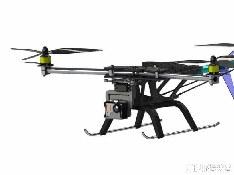 三轴飞行器 3D模型  图17