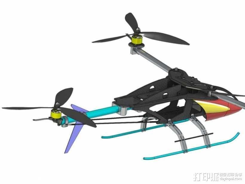 三轴飞行器 3D模型  图26