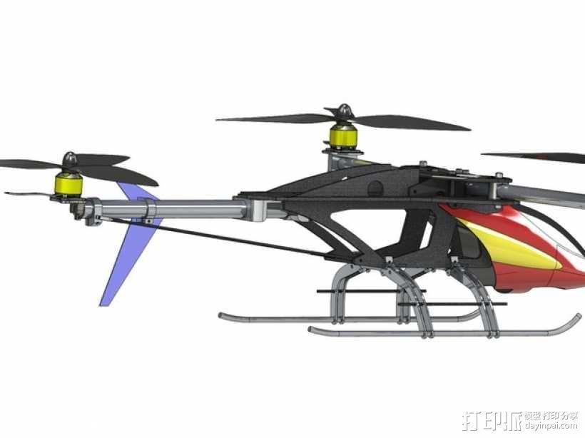 三轴飞行器 3D模型  图30