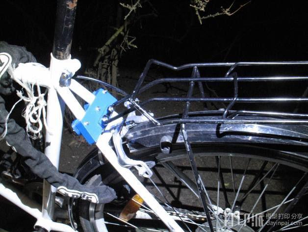 自行车行李架配适器 3D模型  图2
