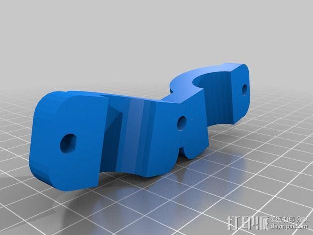 自行车行李架配适器 3D模型  图4