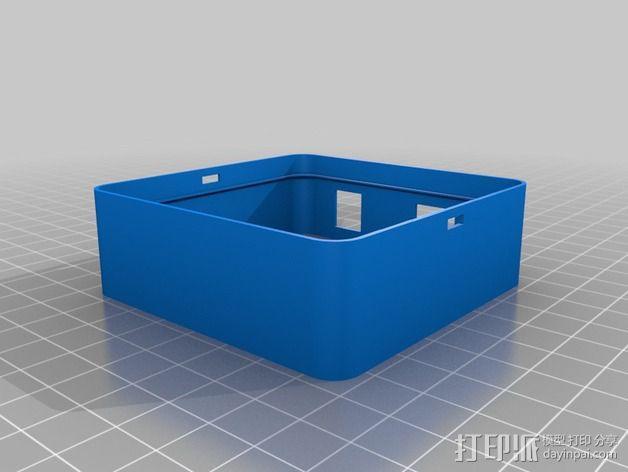 LED发光板外壳 3D模型  图5