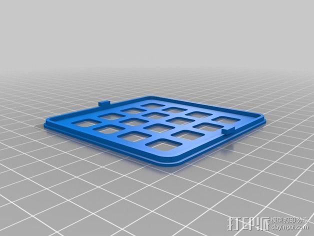 LED发光板外壳 3D模型  图6