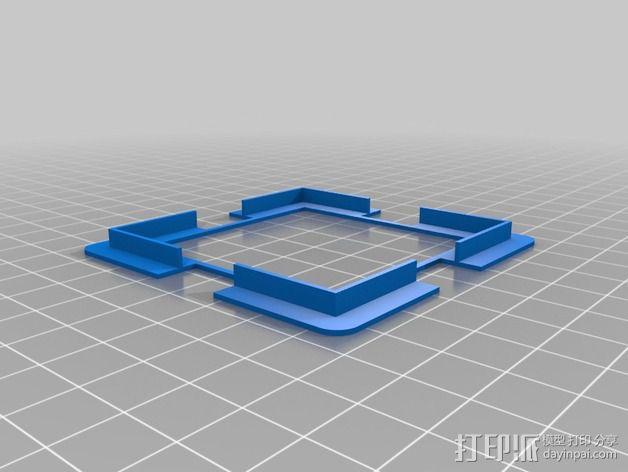 LED发光板外壳 3D模型  图7
