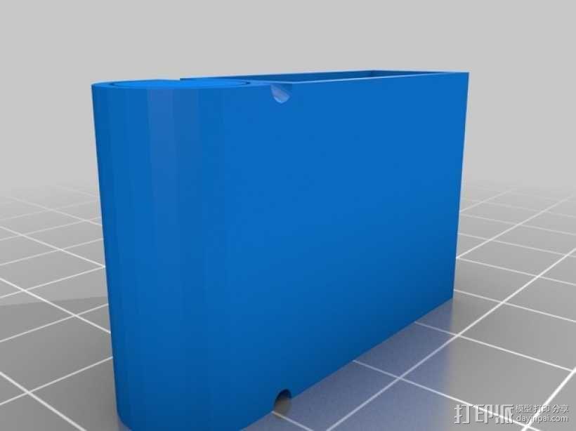 吉他卷弦器 3D模型  图2