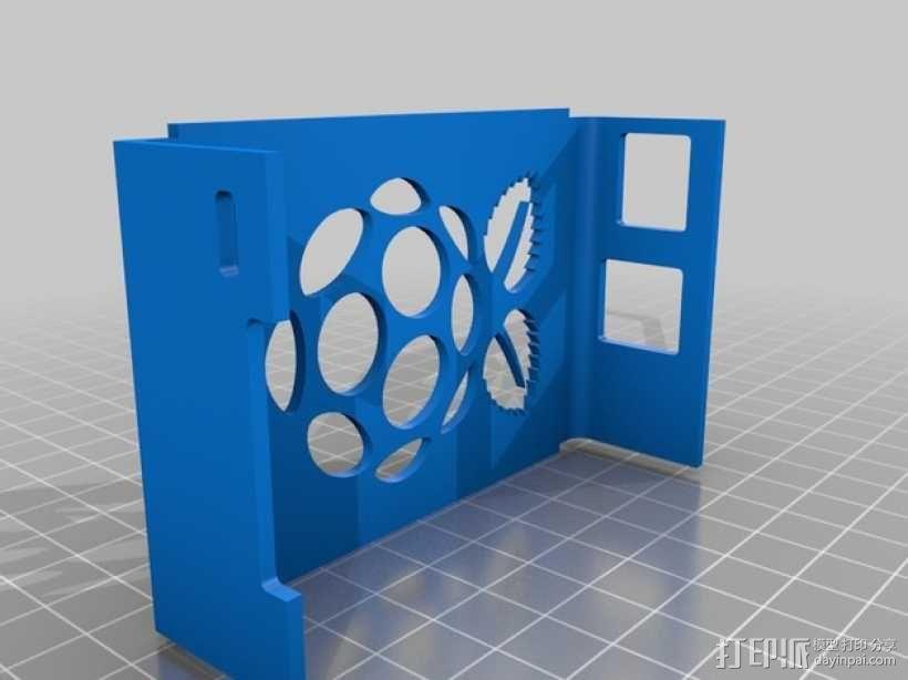树莓派外壳 3D模型  图11