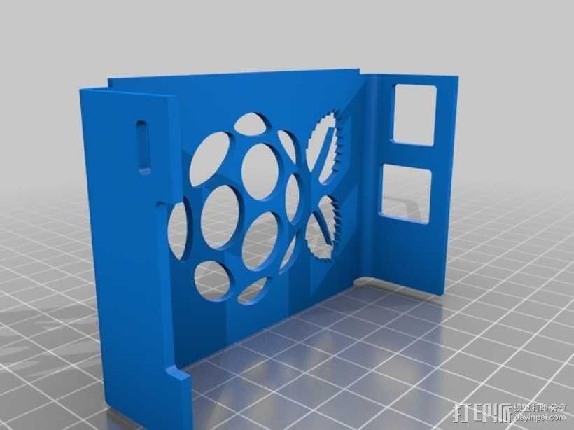 树莓派外壳 3D模型  图12