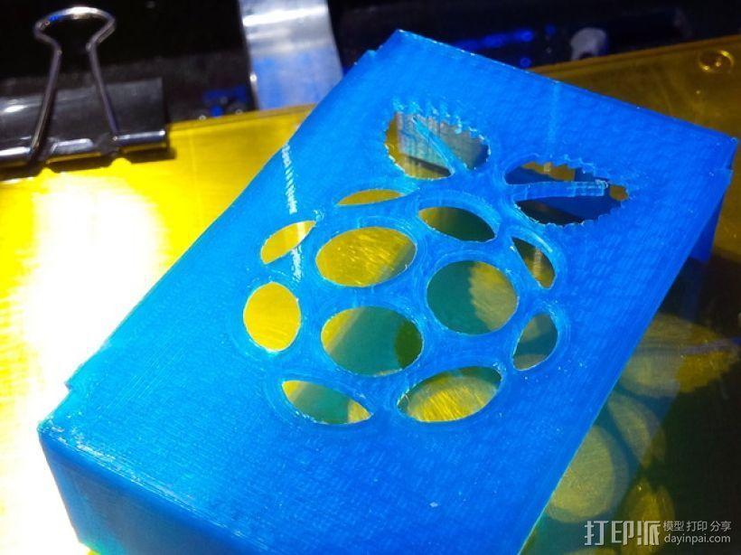 树莓派外壳 3D模型  图22