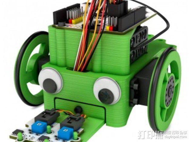 """""""蝌蚪""""机器人 3D模型  图2"""