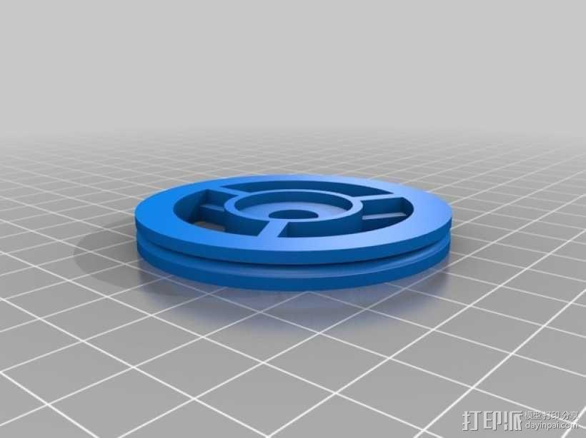 """""""蝌蚪""""机器人 3D模型  图5"""