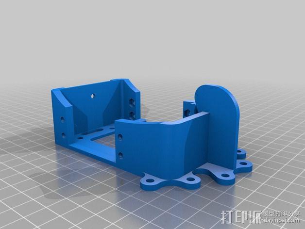 """""""蝌蚪""""机器人 3D模型  图4"""