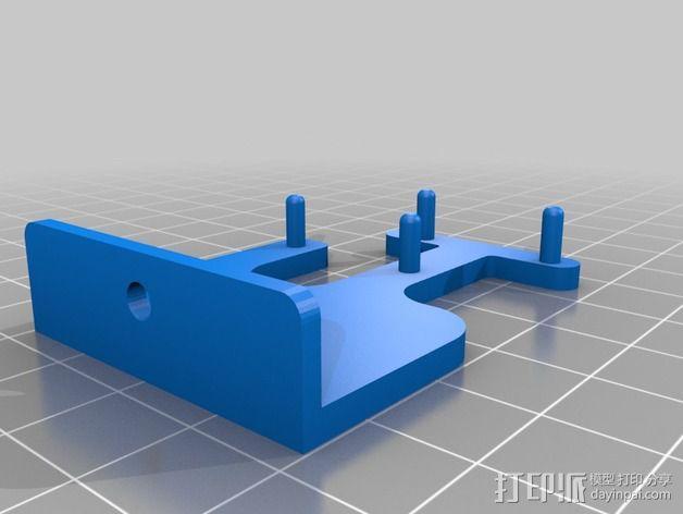 """""""蝌蚪""""机器人 3D模型  图6"""