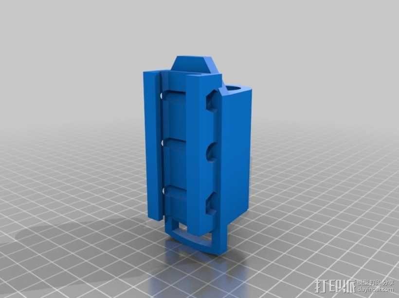 电筒支架 3D模型  图1