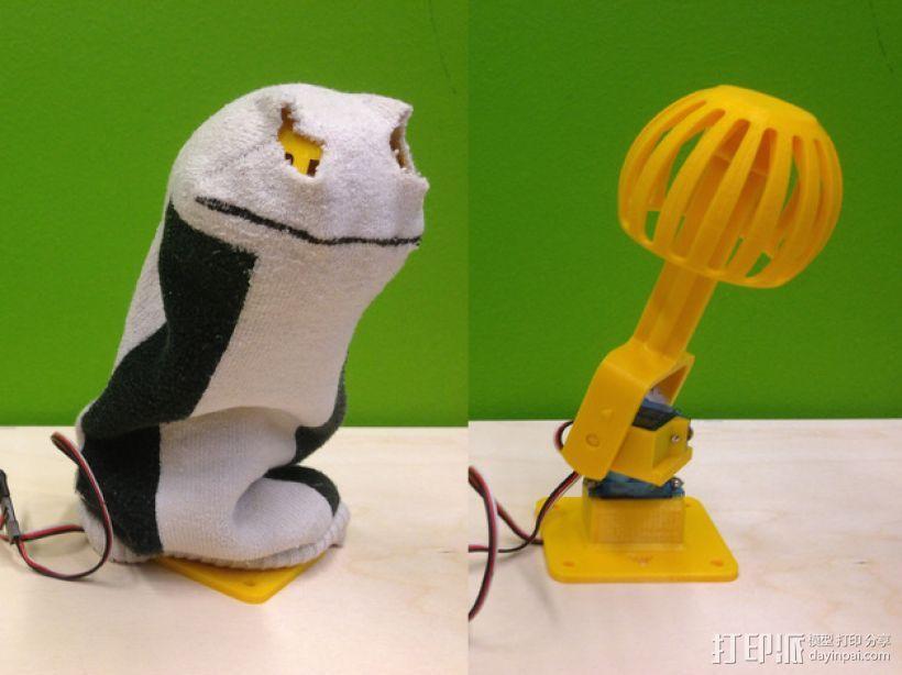袜子木偶 3D模型  图1