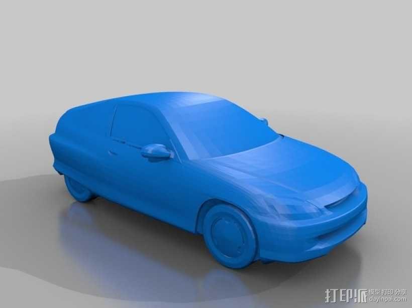 本田汽车 3D模型  图2