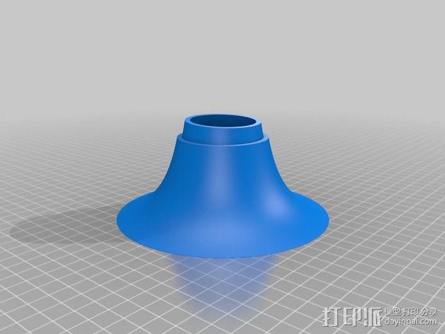 个性化小号 3D模型  图5