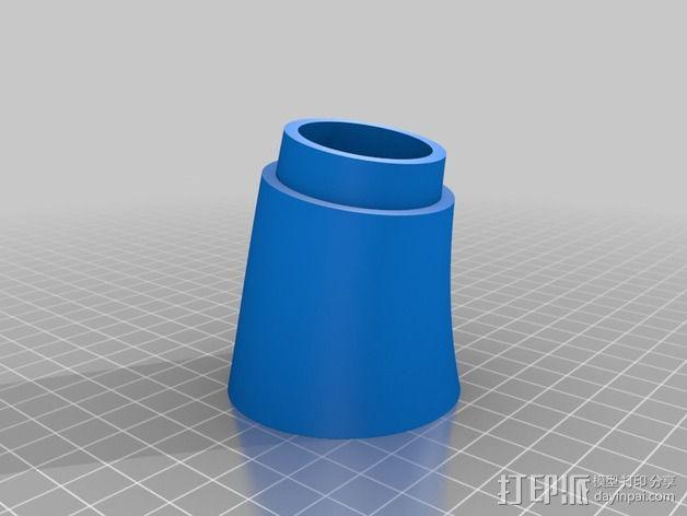 个性化小号 3D模型  图6