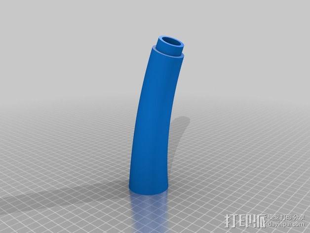 个性化小号 3D模型  图7