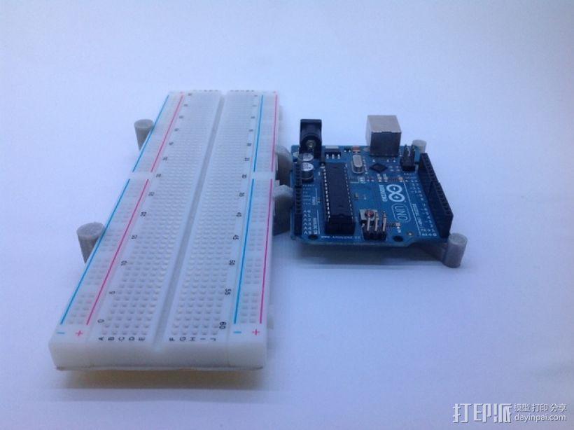 Arduino uno电路板外壳 3D模型  图1