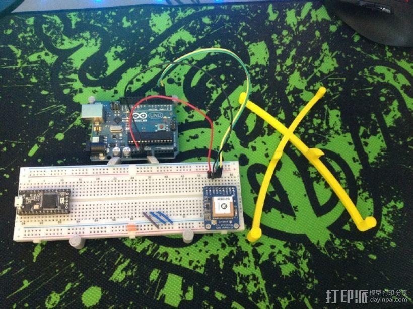 Arduino uno电路板外壳 3D模型  图8
