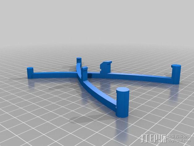 Arduino uno电路板外壳 3D模型  图6