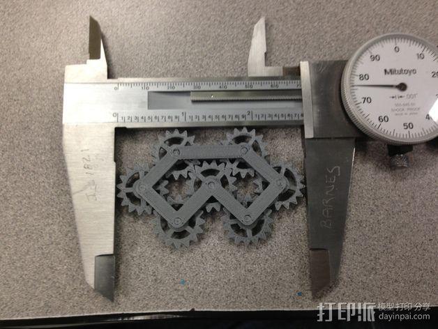 齿轮装置 3D模型  图4