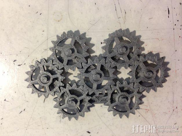 齿轮装置 3D模型  图5