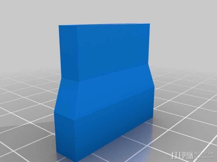 InMoov机器人伺服连接器 3D模型  图5