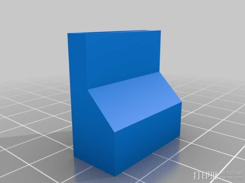 InMoov机器人伺服连接器 3D模型  图6