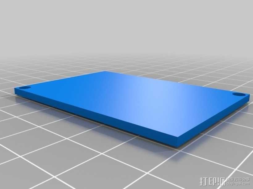 电源盖 3D模型  图4
