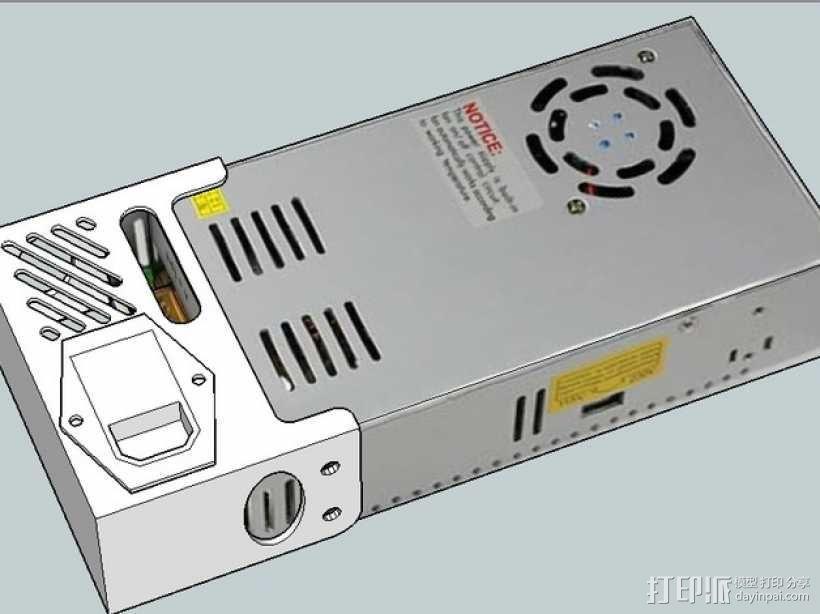 电源盖 3D模型  图6