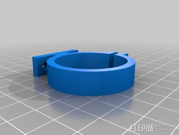 迷你钻床  3D模型  图3