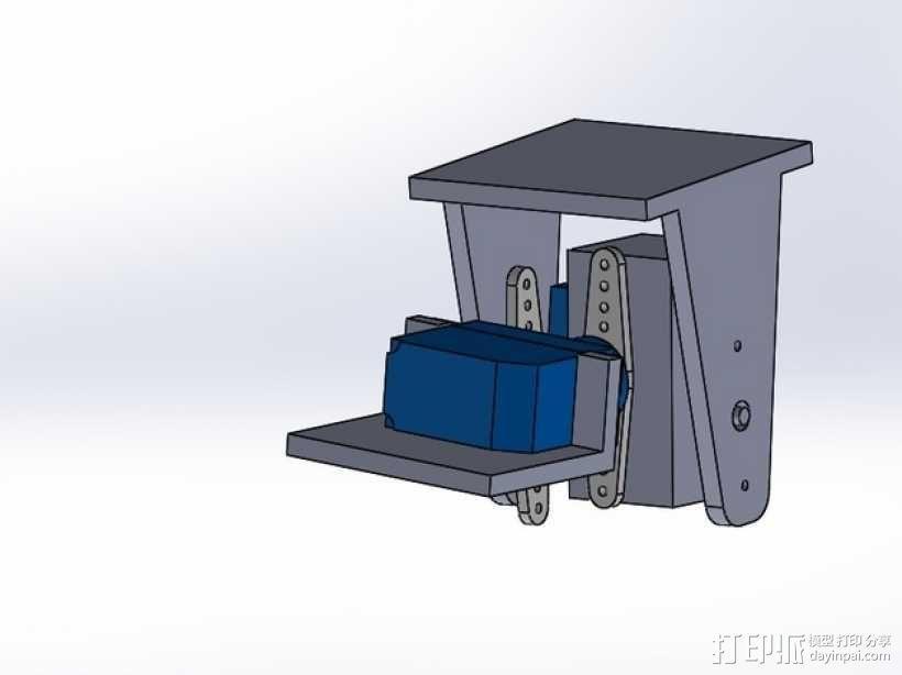 无人机 相机常平架 3D模型  图2