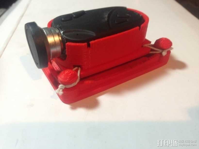 无人机 防振相机支架 3D模型  图9