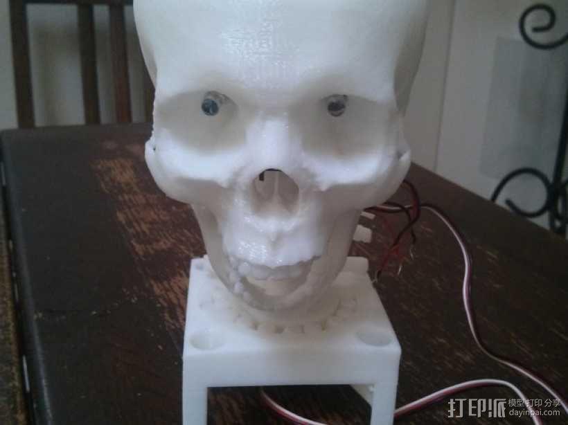 骷髅头 机器人 3D模型  图1
