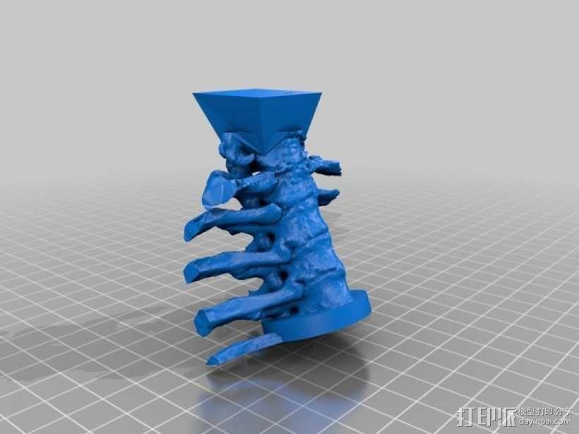 骷髅头 机器人 3D模型  图5
