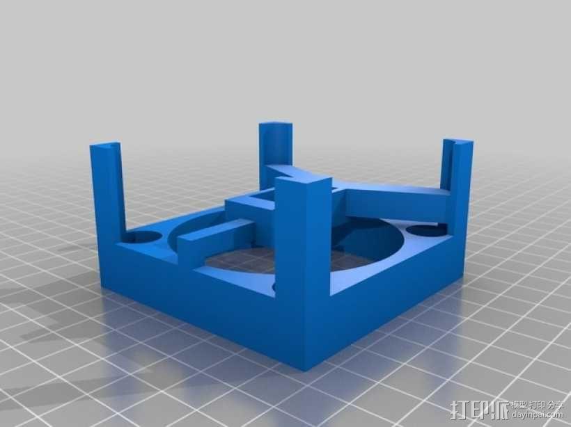 骷髅头 机器人 3D模型  图6